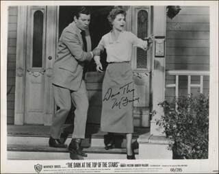 DOROTHY McGUIRE - PRINTED PHOTOGRAPH SIGNED IN INK