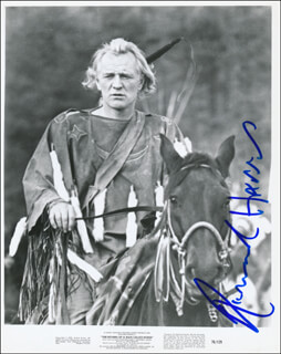 RICHARD HARRIS - PRINTED PHOTOGRAPH SIGNED IN INK