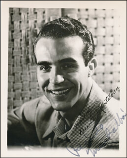 RICARDO MONTALBAN - AUTOGRAPHED SIGNED PHOTOGRAPH