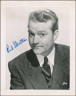RED SKELTON - AUTOGRAPHED SIGNED PHOTOGRAPH