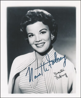 NANETTE FABRAY - AUTOGRAPHED SIGNED PHOTOGRAPH