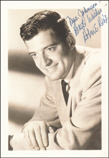 ROBERT DIX - AUTOGRAPHED INSCRIBED PHOTOGRAPH