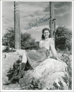 SHIRLEY PATTERSON - AUTOGRAPHED SIGNED PHOTOGRAPH