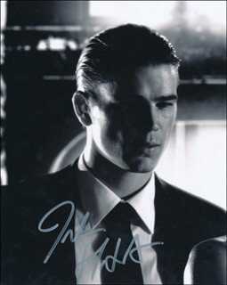 JOSH HARTNETT - AUTOGRAPHED SIGNED PHOTOGRAPH