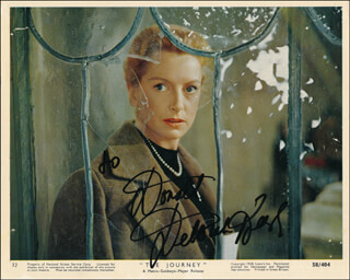 DEBORAH KERR - INSCRIBED PRINTED PHOTOGRAPH SIGNED IN INK