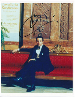 ANDY GARCIA - AUTOGRAPHED SIGNED PHOTOGRAPH