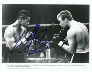 CUBA GOODING JR. - PRINTED PHOTOGRAPH SIGNED IN INK
