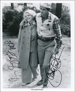 GABLE AND LOMBARD MOVIE CAST - AUTOGRAPHED SIGNED PHOTOGRAPH CO-SIGNED BY: JAMES BROLIN, JILL CLAYBURGH