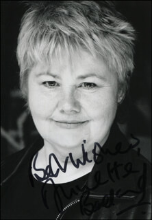 ANNETTE BADLAND - AUTOGRAPHED SIGNED PHOTOGRAPH