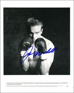 JAMES MARSHALL - PRINTED PHOTOGRAPH SIGNED IN INK