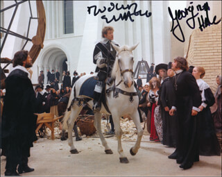 THE DEVILS MOVIE CAST - AUTOGRAPHED SIGNED PHOTOGRAPH CO-SIGNED BY: GEORGINA HALE, DUDLEY SUTTON