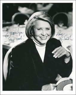 LIZ (MARY ELIZABETH) SMITH - AUTOGRAPHED INSCRIBED PHOTOGRAPH