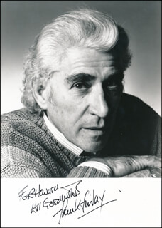FRANK FINLAY - AUTOGRAPHED INSCRIBED PHOTOGRAPH