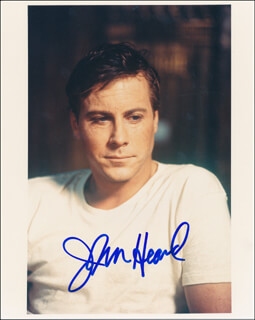JOHN HEARD - AUTOGRAPHED SIGNED PHOTOGRAPH