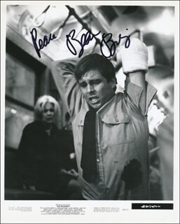 BEAU BRIDGES - PRINTED PHOTOGRAPH SIGNED IN INK