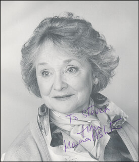 Autographs: MARCIA ASHTON - INSCRIBED PHOTOGRAPH SIGNED