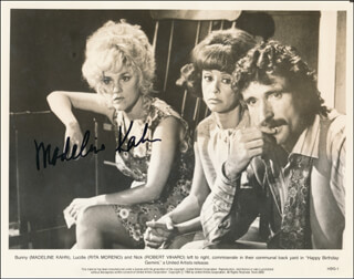 MADELINE KAHN - PRINTED PHOTOGRAPH SIGNED IN INK