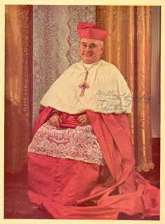 FRANCIS CARDINAL SPELLMAN - AUTOGRAPHED INSCRIBED PHOTOGRAPH