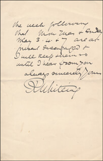 RICHARD WHITEING - AUTOGRAPH LETTER SIGNED 04/19/1909