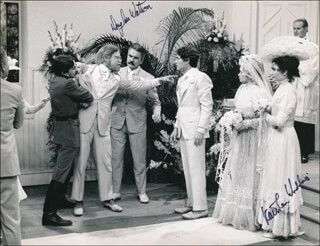 MUCH ADO ABOUT NOTHING MOVIE CAST - AUTOGRAPHED SIGNED PHOTOGRAPH CO-SIGNED BY: KATHLEEN WIDDOES, DOUGLASS WATSON