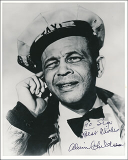 ALVIN AMOS CHILDRESS - AUTOGRAPHED INSCRIBED PHOTOGRAPH