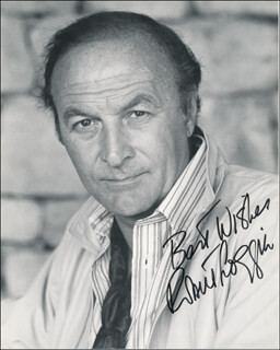 ROBERT LOGGIA - AUTOGRAPHED SIGNED PHOTOGRAPH