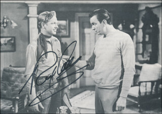 REX ALLEN - MAGAZINE PHOTOGRAPH SIGNED