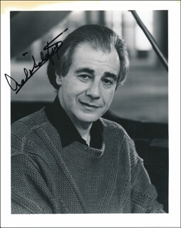 LALO SCHIFRIN - AUTOGRAPHED SIGNED PHOTOGRAPH