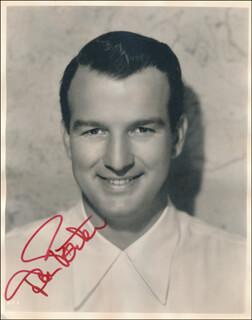 DON PORTER - AUTOGRAPHED SIGNED PHOTOGRAPH