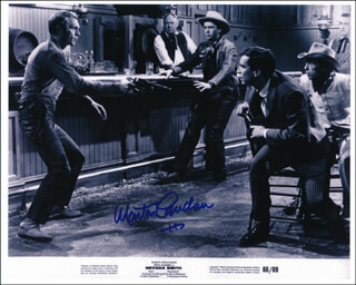 MARTIN LANDAU - PRINTED PHOTOGRAPH SIGNED IN INK
