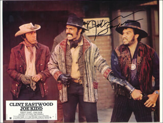 JOHN SAXON - PRINTED PHOTOGRAPH SIGNED IN INK
