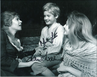 OLIVER! MOVIE CAST - AUTOGRAPHED SIGNED PHOTOGRAPH CO-SIGNED BY: SHANI WALLIS, MARK LESTER