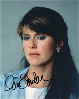 PAM DAWBER - AUTOGRAPHED SIGNED PHOTOGRAPH