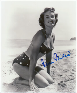 VERA MILES - AUTOGRAPHED SIGNED PHOTOGRAPH