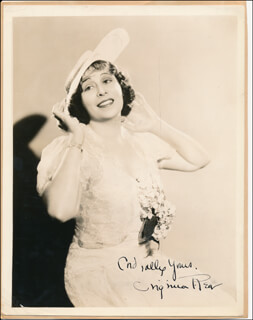 VIRGINIA REA - AUTOGRAPHED SIGNED PHOTOGRAPH