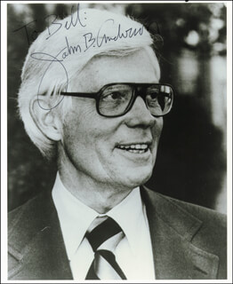 Autographs: JOHN B. ANDERSON - INSCRIBED PHOTOGRAPH SIGNED