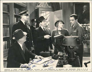 Autographs: WALTER ABEL - PHOTOGRAPH SIGNED 11/1957