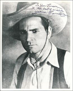 YAKIMA CANUTT - AUTOGRAPHED INSCRIBED PHOTOGRAPH