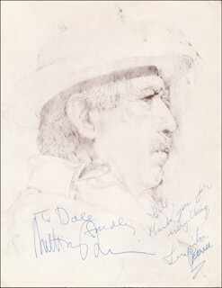 THE CHILDREN OF SANCHEZ MOVIE CAST - INSCRIBED PRESS RELEASE SIGNED CO-SIGNED BY: ANTHONY QUINN, LUPITA FERRER