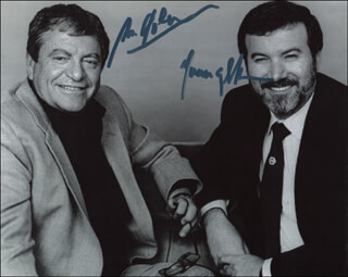 MENAHEM GOLAN - AUTOGRAPHED SIGNED PHOTOGRAPH CO-SIGNED BY: YORAM GLOBUS