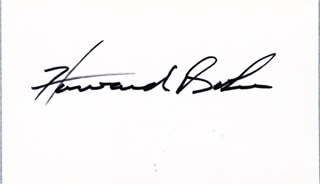 Autographs: HOWARD H. BAKER JR. - SIGNATURE(S)