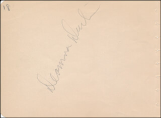 DEANNA DURBIN - AUTOGRAPH CO-SIGNED BY: FRED MacMURRAY