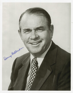 GOVERNOR HENRY BELLMON - AUTOGRAPHED SIGNED PHOTOGRAPH