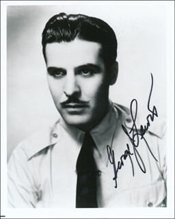 GEORGE J. LEWIS - AUTOGRAPHED SIGNED PHOTOGRAPH