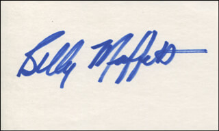 BILLY MUFFETT - AUTOGRAPH