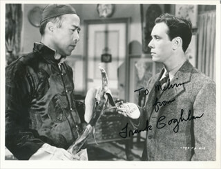 FRANK COGHLAN JR. - AUTOGRAPHED INSCRIBED PHOTOGRAPH