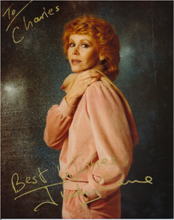 JUDY CARNE - AUTOGRAPHED INSCRIBED PHOTOGRAPH