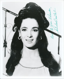 LINDA CRISTAL - AUTOGRAPHED INSCRIBED PHOTOGRAPH
