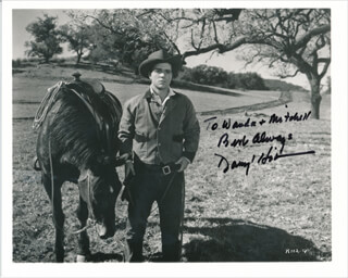 DARRYL HICKMAN - AUTOGRAPHED INSCRIBED PHOTOGRAPH