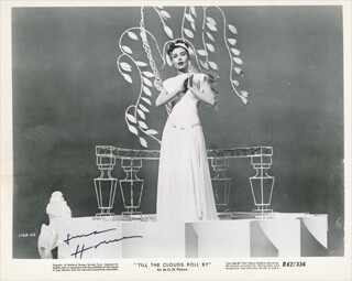 LENA HORNE - PRINTED PHOTOGRAPH SIGNED IN INK